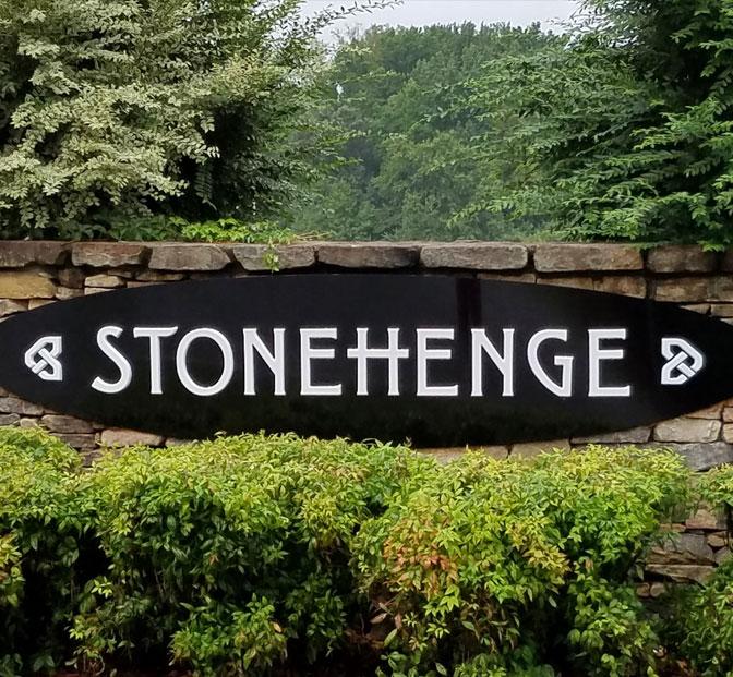 Stonehenge-sign